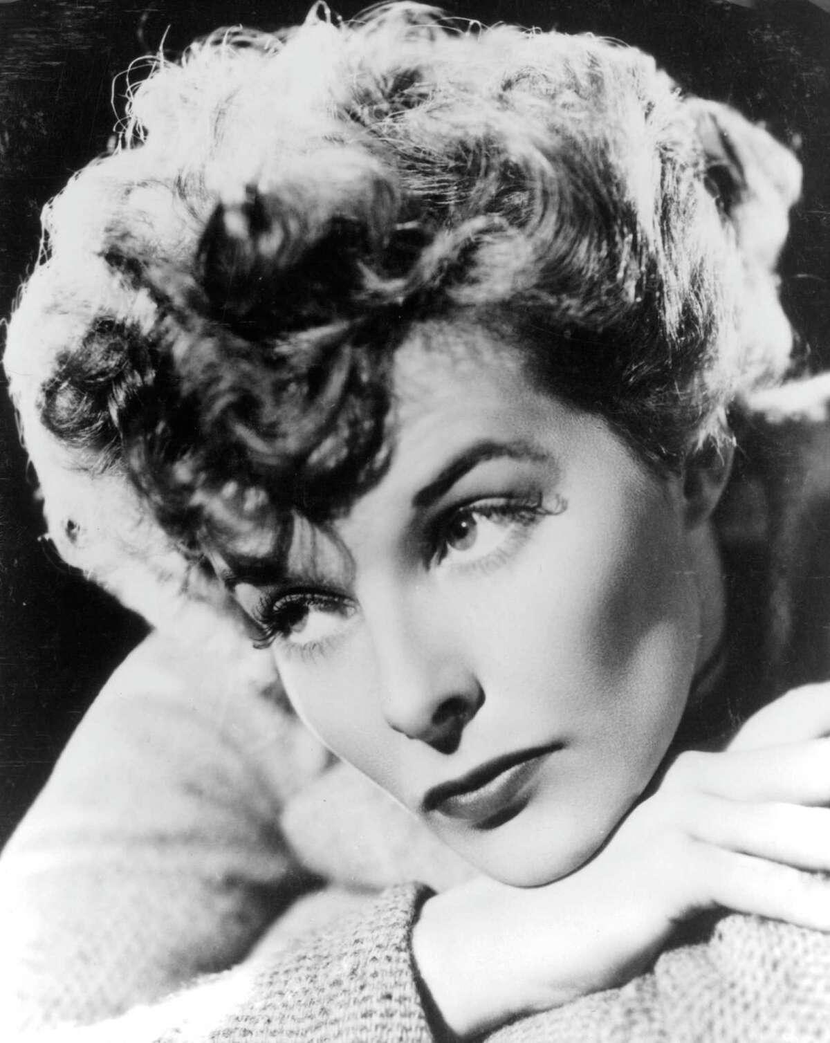 1930: Katharine Hepburn, circa 1930.