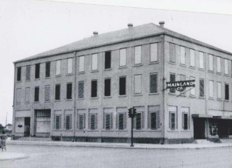 Historic photo of Mainland Pharmacy's storefront. Photo: Sammi Sanders