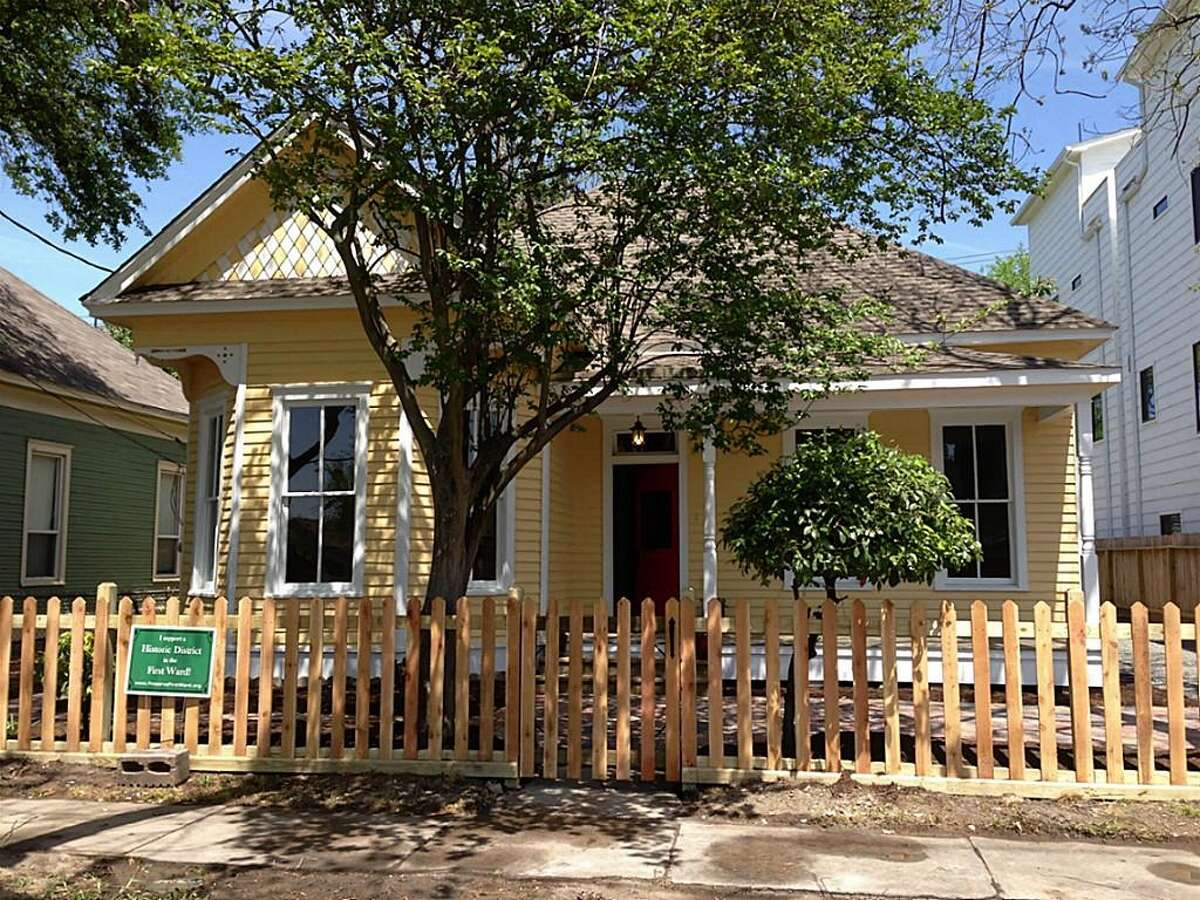 This home at 1706 Crockett will be part of the High First Ward Historic District.