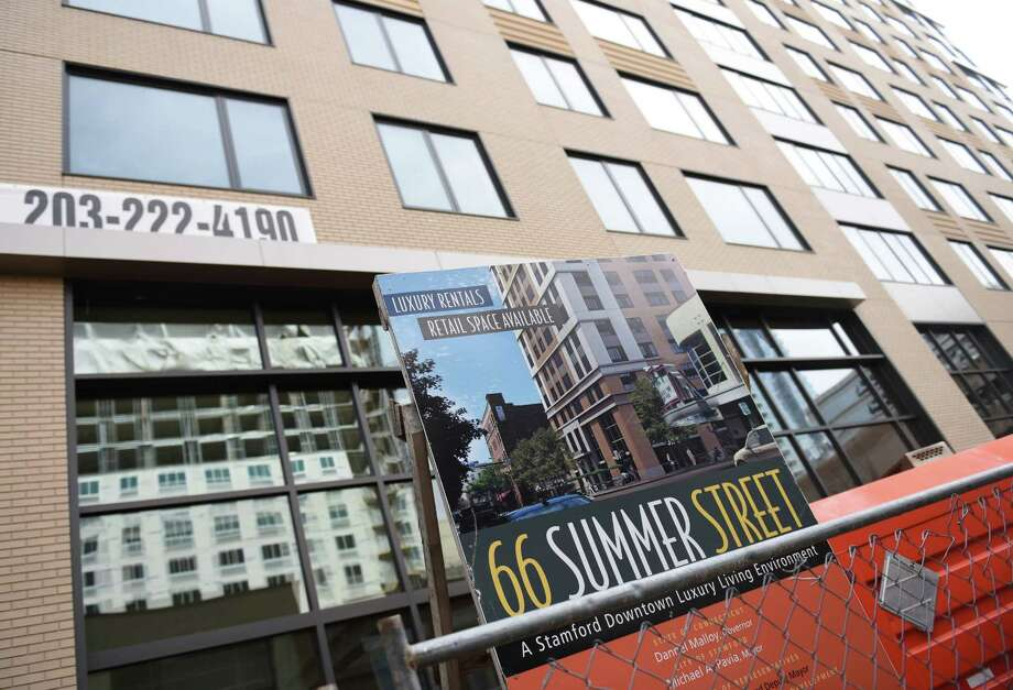 A new residential building at 66 Summer St. is the latest phase of the Urban Redevelopment Commission's Park Square West Project.