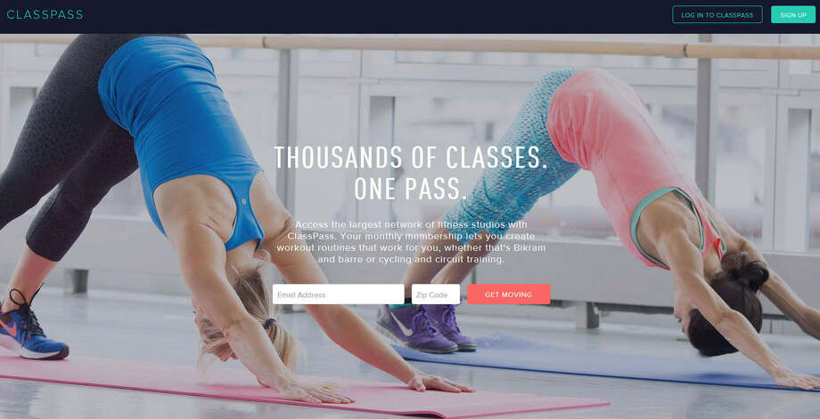 ClassPass lets you take classes at more than 30  studios across the city Photo: ClassPass