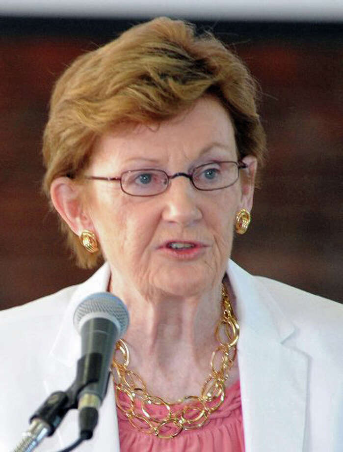 Barbara O'Neill, chairman, Greenwich Board of Education. Photo: File Photo / File Photo / Greenwich Time File Photo
