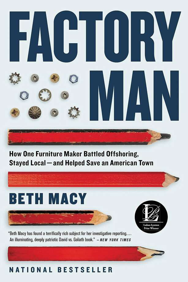 Factory Man: How One Furniture Maker Battled Offshoring, Stayed Local - and Helped Save an American Town Photo: Back Bay Books