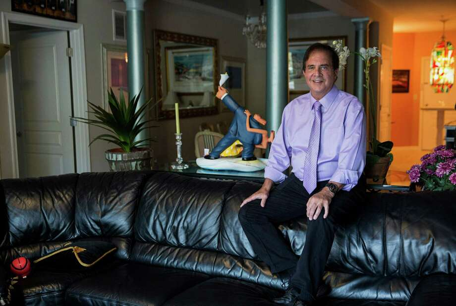 """Trial attorney Mike Abelson, 65, moved into his """"man cave,"""" as he calls his apartment, after his wife died. The number of renters who are 65 or older will reach 12.2 million by 2030, more than double the level in 2010, according to research by the Urban Institute in Washington. Photo: Drew Angerer /Bloomberg News / © 2015 Bloomberg Finance LP"""