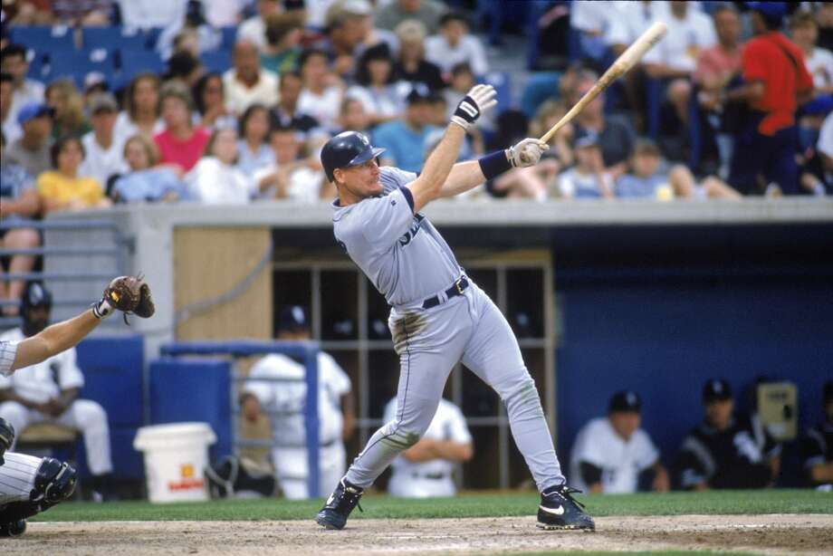 July 21, 1988: Mariners send DH Ken Phelps to the New York Yankees for RF Jay Buhner,  P Rick Balabon and P Troy Evers.The Mariners' move to get Buhner, an All-Star and Golden Glove winner, is considered one of the best trades in Seattle's history -- and one of the worst for the Yankees during some dark days in New York. Phelps first caught the eye of the Yankees when he hit 14 home runs in half a season with the M's in 1988. However, after being traded to the Yankees, he couldn't keep his hot streak going and saw a major drop in production. Meanwhile in Seattle, Buhner hit 307 home runs and had 951 RBIs in 14 seasons. In 1991, he had the first of seven consecutive 20-homer seasons. From 1995-1997, Buhner had three straight 40 home run seasons. Evers never made it to the big leagues. Photo: John Reid III, MLB Photos Via Getty Images