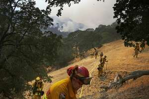 Wragg Fire near Lake Berryessa flares up, forces more evacuations - Photo