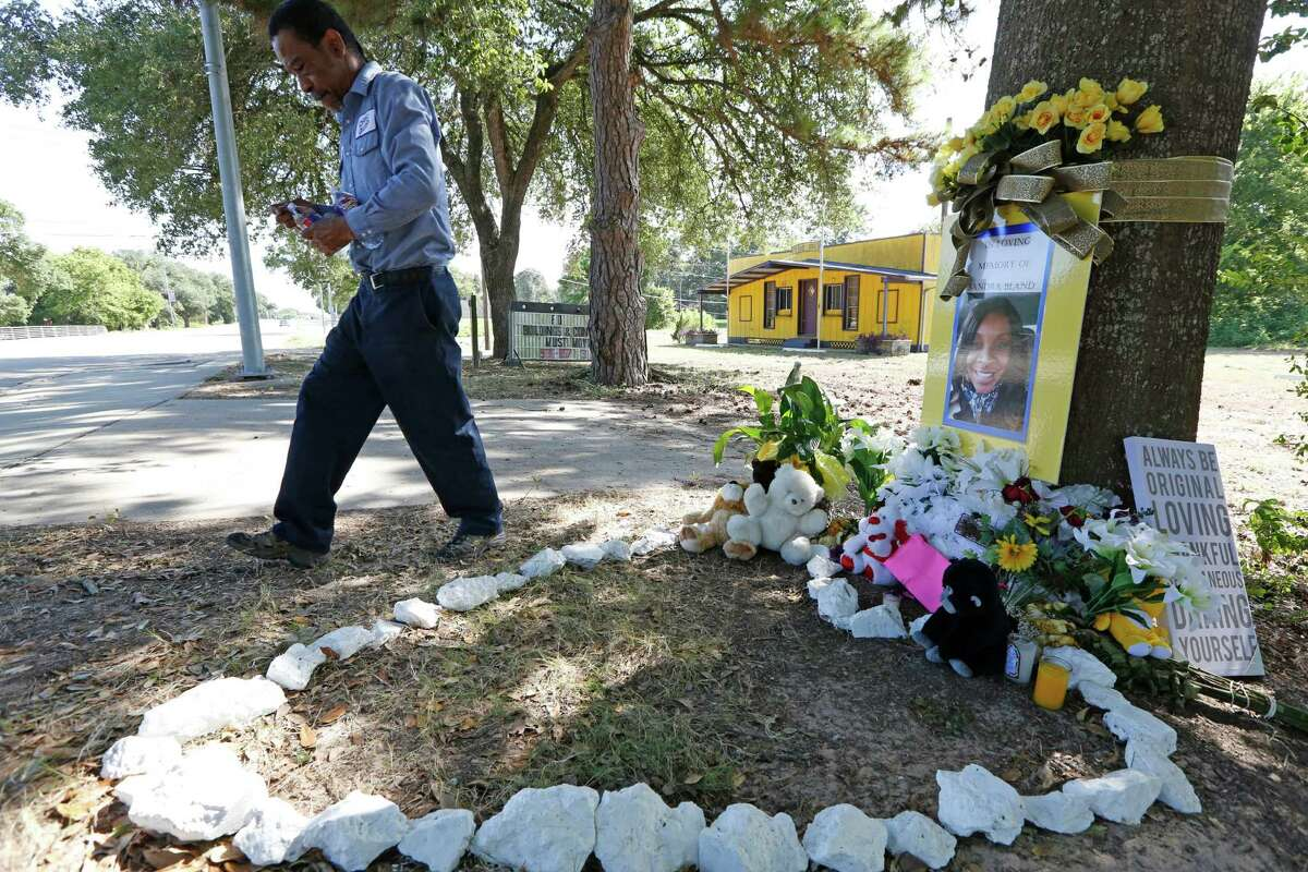 """""""She was me,"""" mourner Frank Scott said after visiting a memorial for Sandra Bland in Prairie View. """"We both moved from the crime of the big city to live in peace of small town."""""""