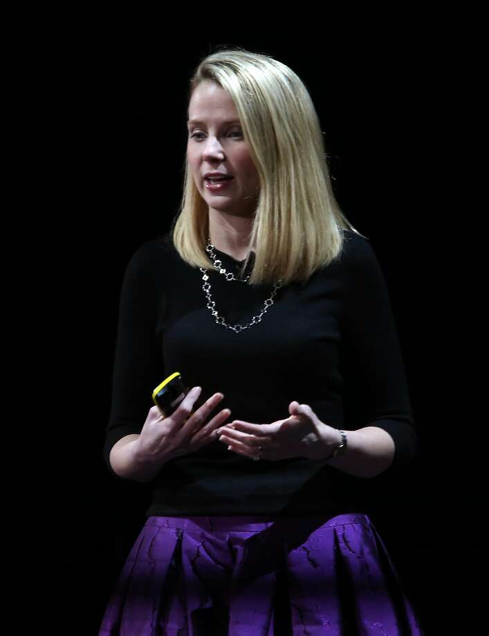 Marissa Mayer is facing pressure to show results after three years as CEO. Photo: Paul Chinn, The Chronicle