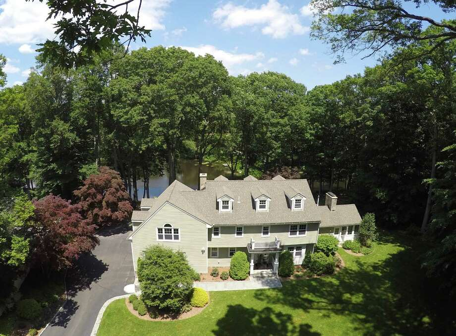 The property at 8 Pioneer Road is on the market for $2,250,000. Photo: Contributed Photos / Westport News