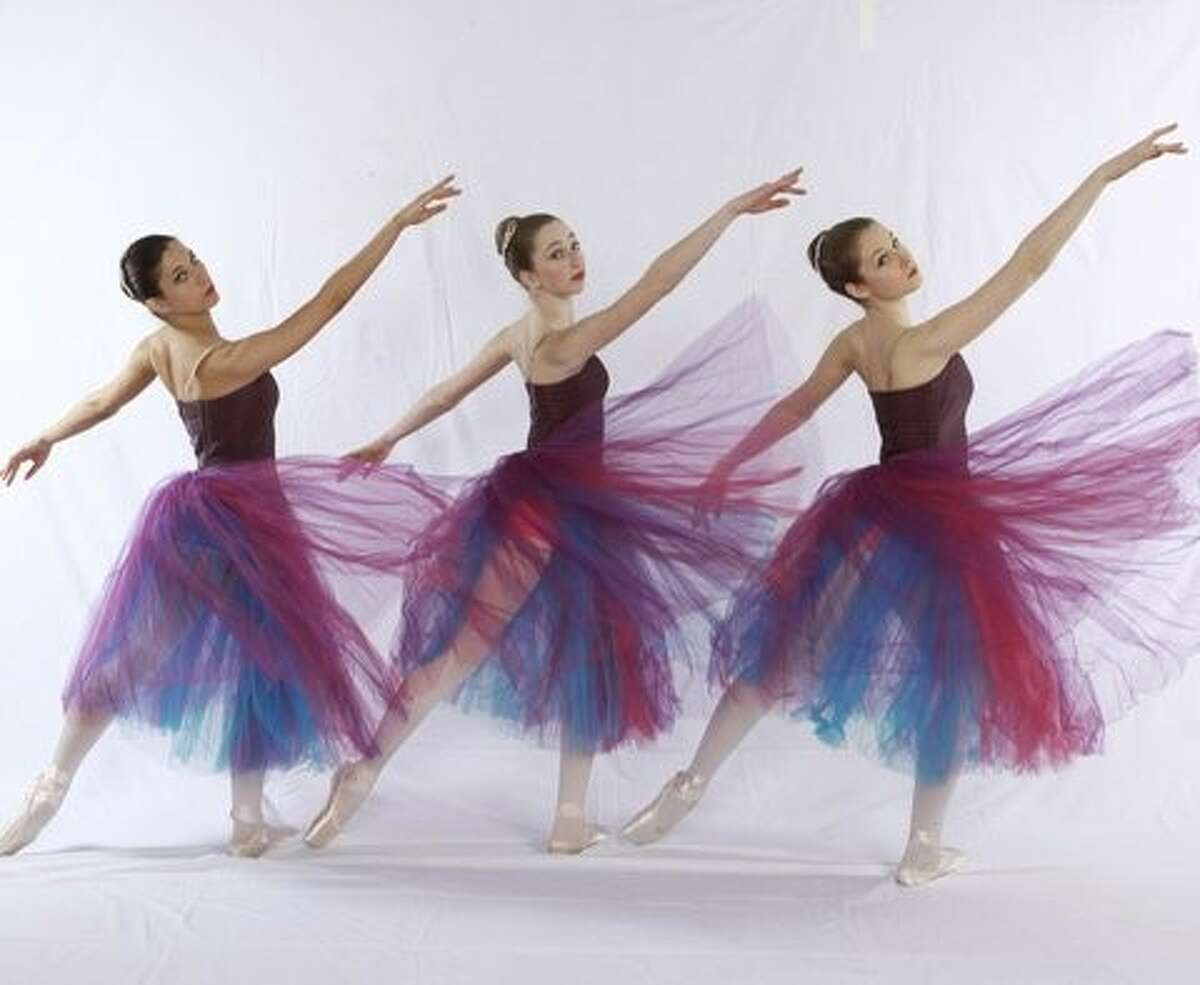 Dancing into the future: Dancers from the New Canaan Academy of Dance performed at their graduation recitals in June.