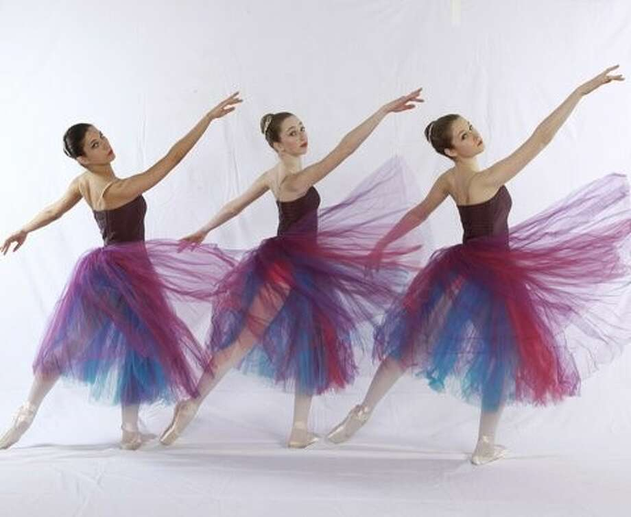 Dancing into the future: Dancers from the New Canaan Academy of Dance performed at their graduation recitals in June. Photo: Contributed / Contributed / Stamford Advocate Contributed
