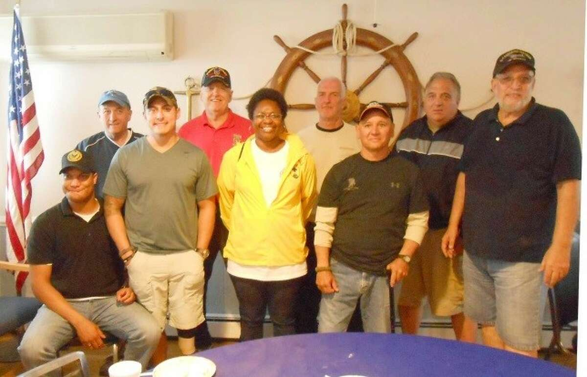 On course: U.S. military veterans from Walter Reed Army Hospital and other Connecticut and local area veterans took part in the 4th Annual Hooks for Heroes Fishing Tournament on June 20.