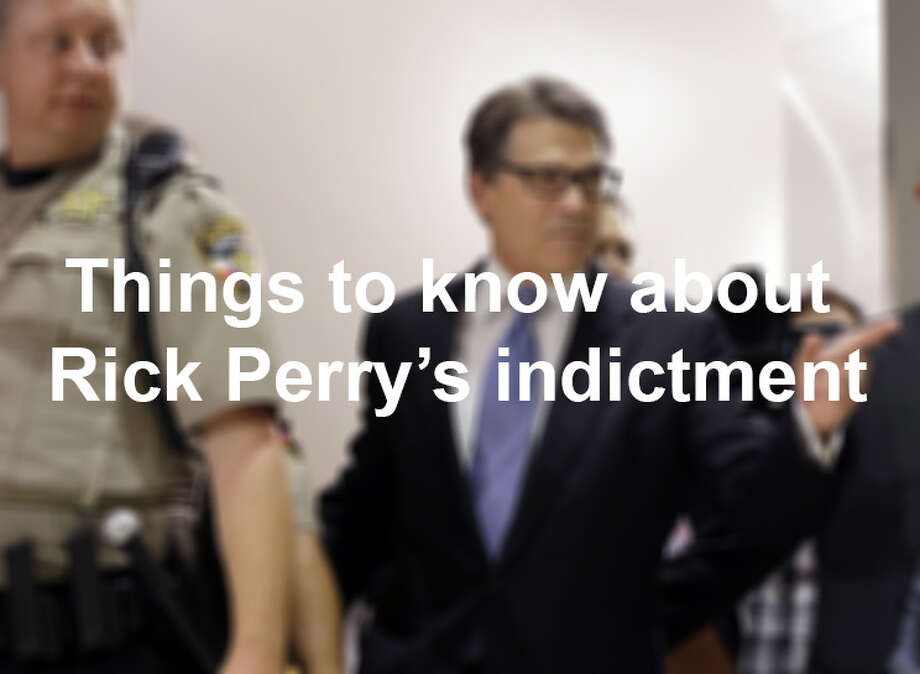"With a backstory as rich as an episode of ""House of Cards,"" the Rick Perry indictment can be a challenging case to keep up with.  Photo: San Antonio Express-News"