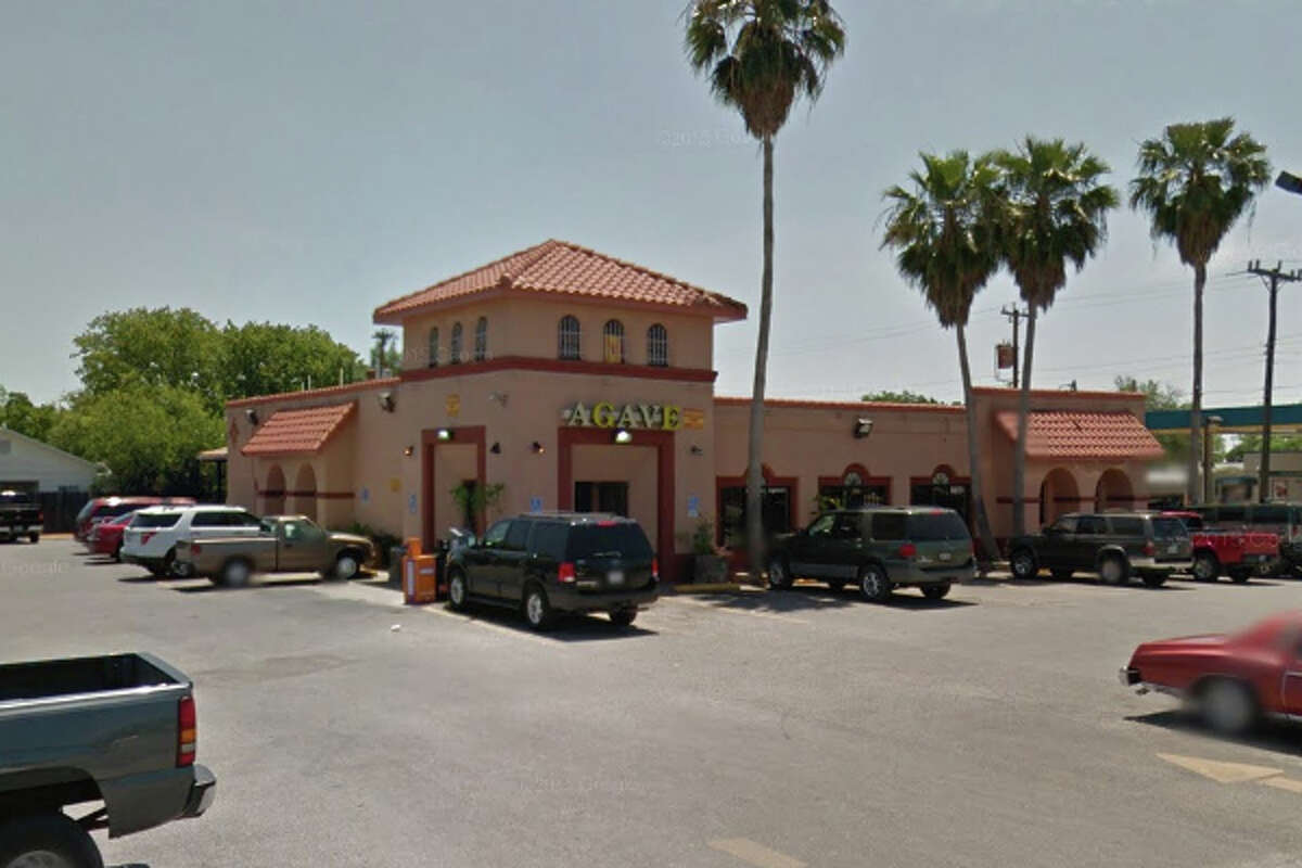 Agave Mexican Restaurant: 3302 Pleasanton Road, San Antonio, Texas 78221Date: 02/04/2016 Demerits: 14Highlights: Food found unprotected from cross contamination (shell eggs in cold hold unit stored above ready-to-eat foods), employees' personal food items found near food areas, no Certified Food Manager (CFM) present , discontinue use of broken/chipped wares