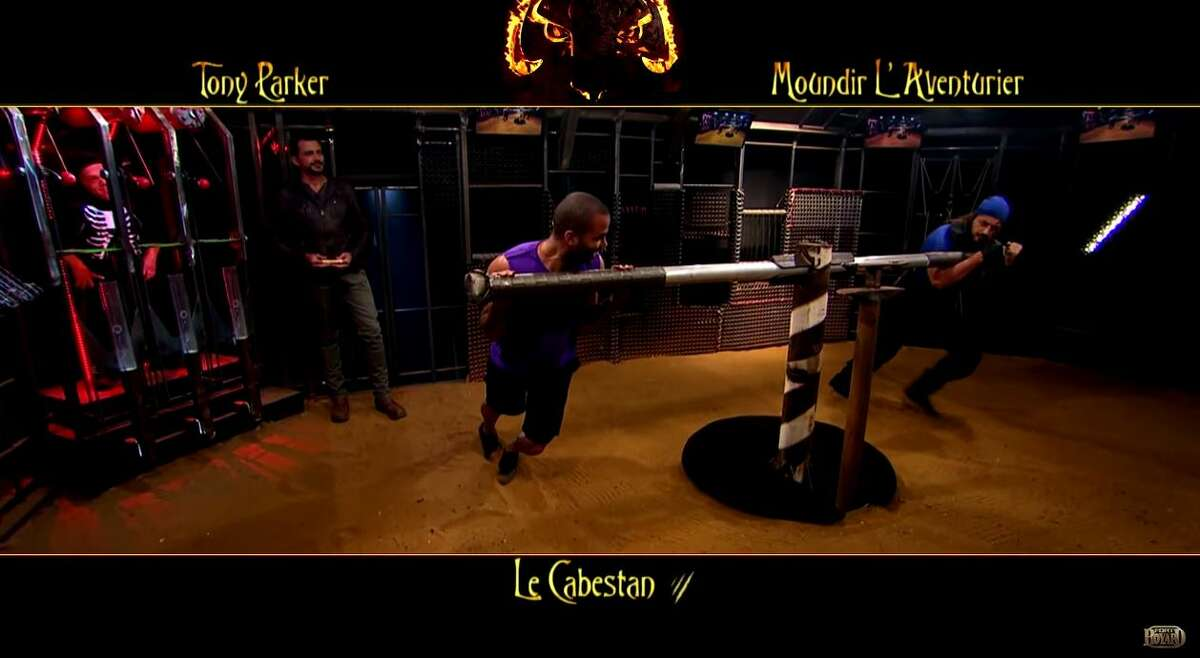 2. Tony Parker and Boris Diaw compete in French game show: While on summer vacation, the two had a Gladiator-style faceoff against a tiger on the celebrity game show.