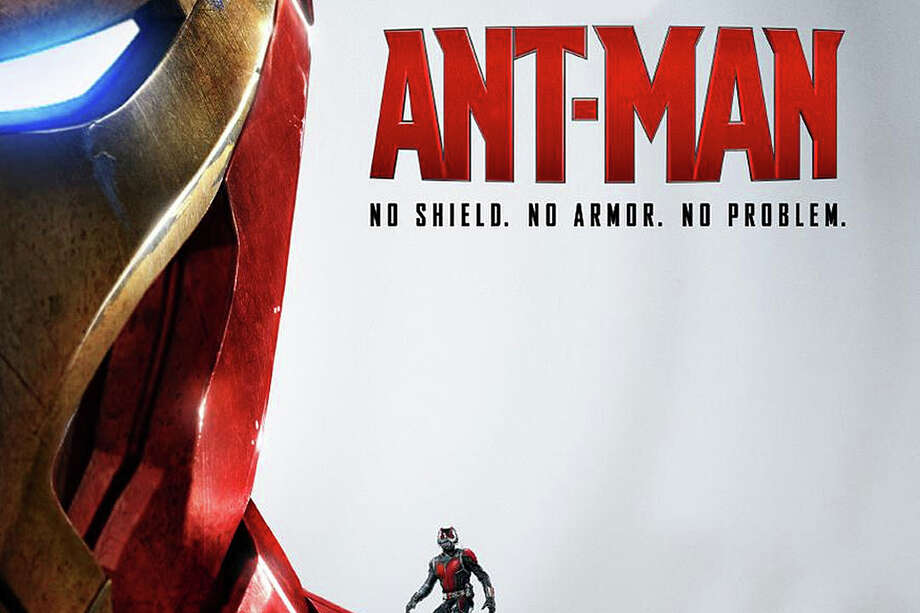 """Ant-Man"" is the latest comic book hero to be showcased on the big screen. Photo: Contributed / Contributed Photo / Westport News"
