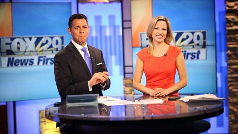 Come March 27, Ernie Zuniga and Jessica Headley will add another half-hour to their midday news duties.  Photo: Courtesy