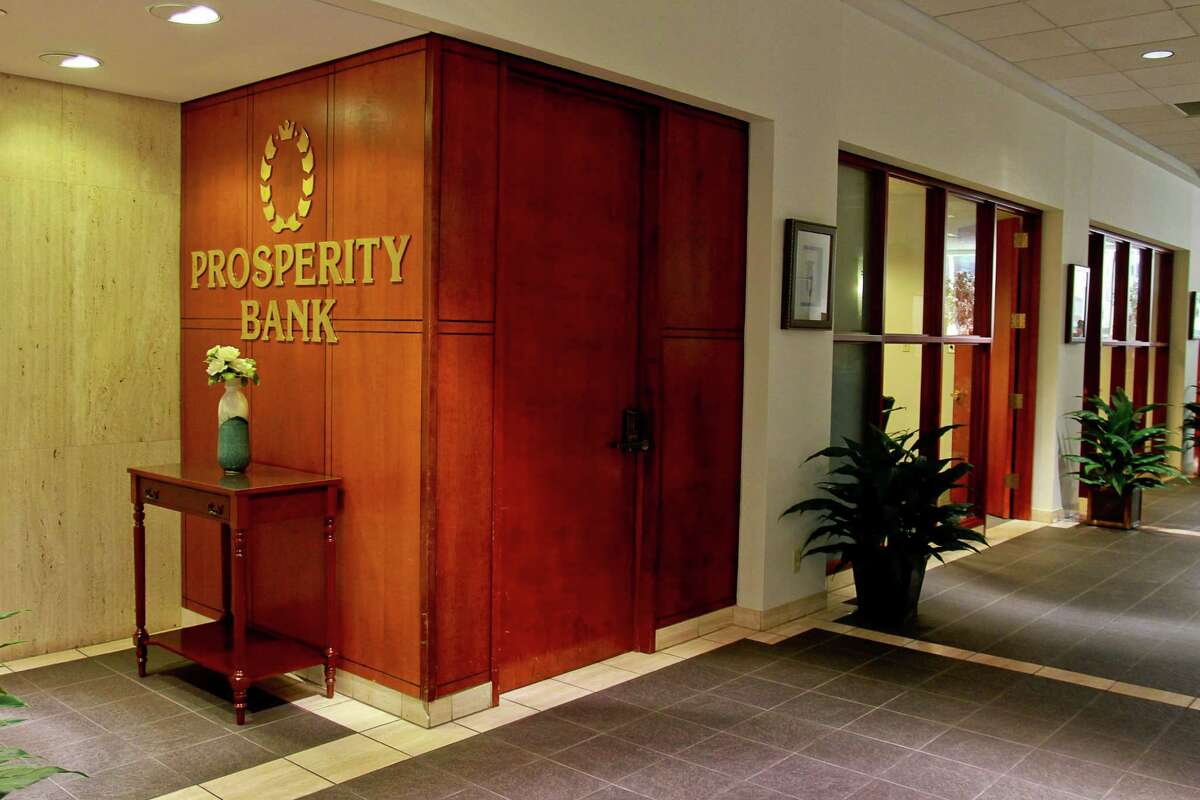 Prosperity Bank's downtown location, at 811 Louisiana. (For the Chronicle/Gary Fountain, June 2, 2015)
