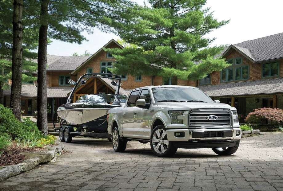 The Limited's standard equipment list showcases some of Ford's top technologies such as Blis with cross-traffic alert. A technology package adds a lane-keeping system, 360-degree camera system and dynamic trailer hitch assist. Photo: Ford