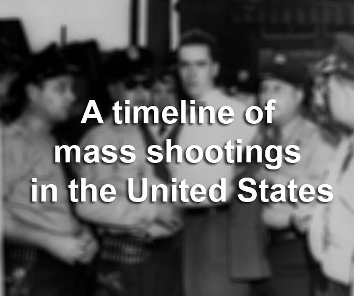 Scroll through the gallery for a timeline of some of the deadliest mass shootings in U.S. history.