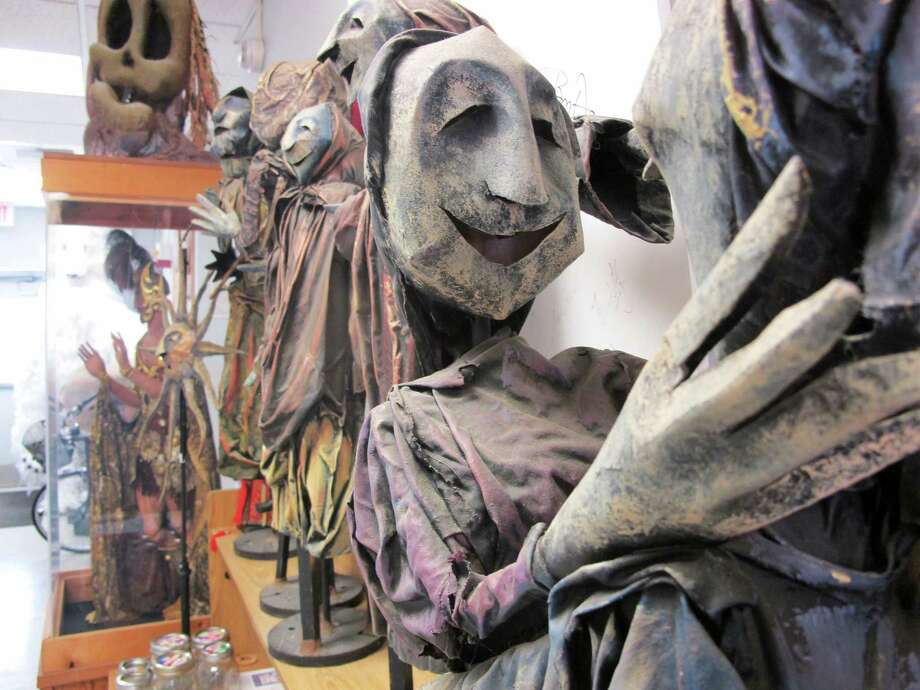 Puppets in the University of Connecticut's Puppet Arts building on the school's Depot Campus in Storrs, Conn. UConn is one of two schools in the nation to offer degrees in puppetry. (AP Photo/Pat Eaton-Robb) Photo: Pat Eaton-Robb / Associated Press / AP