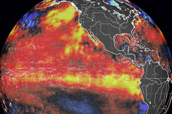The present El Nino could be the stongest on record.