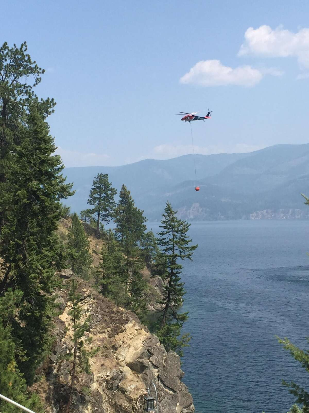 Cape Horn Fire: This fire in Idaho's panhandle is 100 percent contained but still burning across 1,326 acres near the south end of Lake Pend Oreille. The cause is still under investigation and 144 firefighters are working to monitor and maintain containment of the fire.