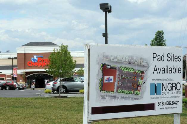 The Price Chopper on the former site of St. Patrick's Church at 1515 19th Street on Friday July 24, 2015 in Watervliet, N.Y. (Michael P. Farrell/Times Union) Photo: Michael P. Farrell / 00032756A