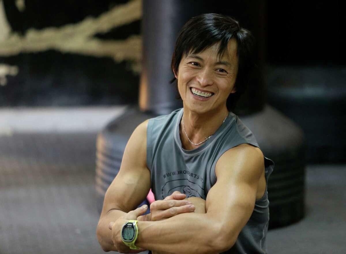 "Sam Sann, owner of Iron Sports, has competed on ""American Ninja Warrior"" the past three seasons."
