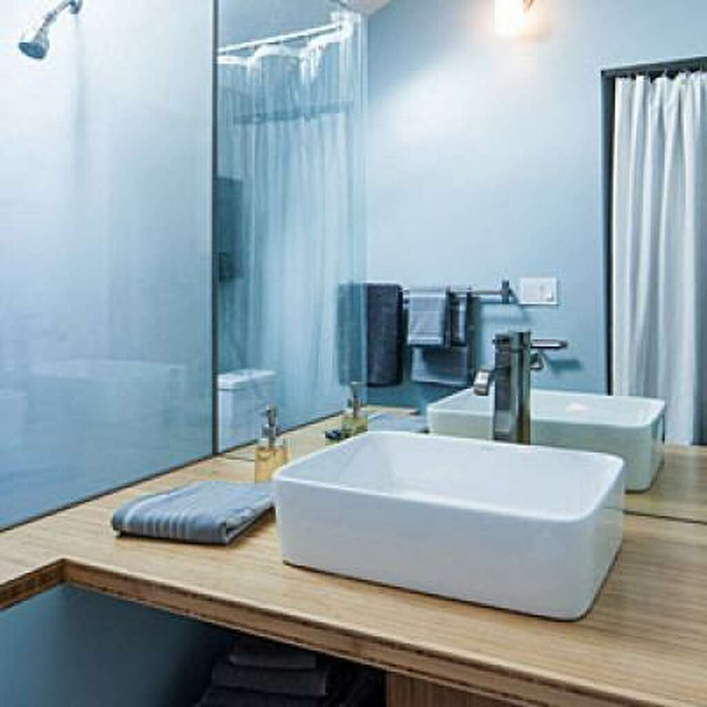 8 tricks to make the most of a small bathroom - SFGate