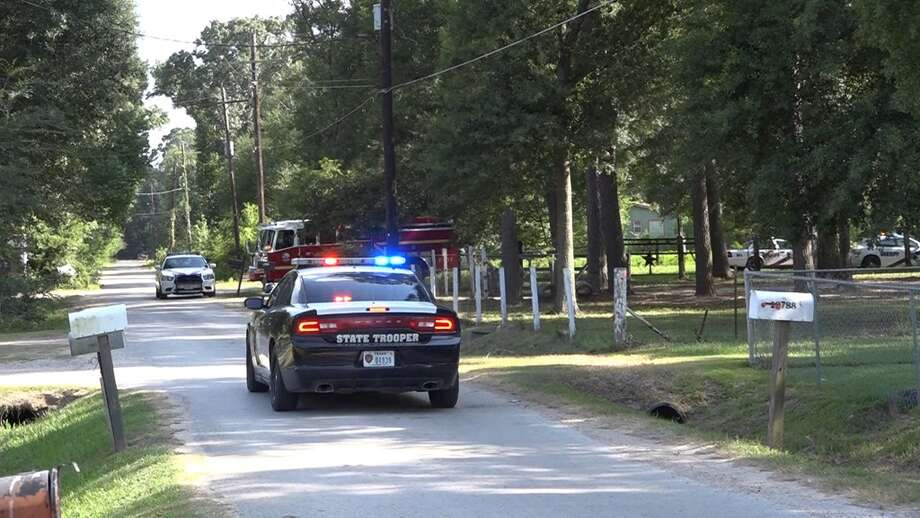 A child was hit by a vehicle along Espinosa Lane in New Caney on Friday, reports say. Photo: Montgomery County Police Reporter