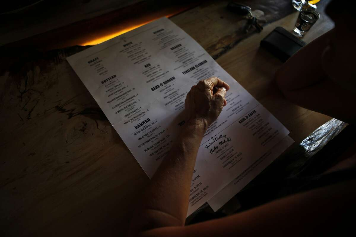 """Now read me the menu,"" she said."