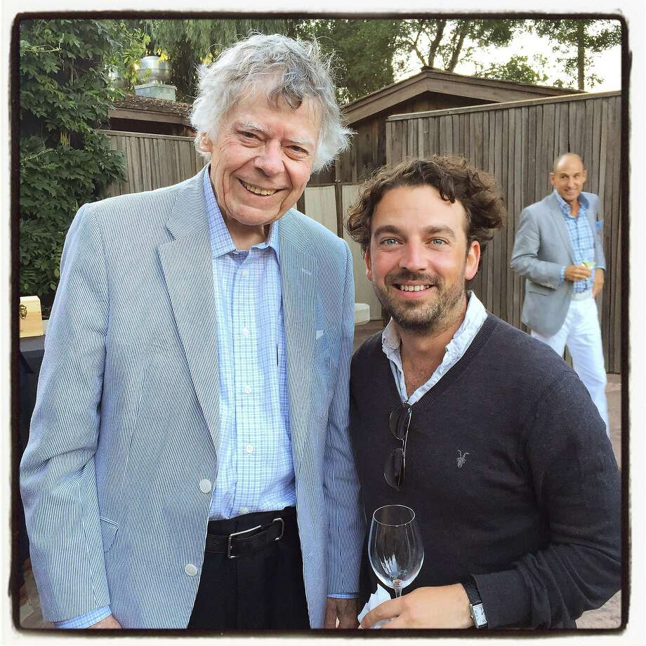 Composer Gordon Getty (left) and conductor James Gaffigan were a mighty team at Festival del Sole. July 2015. Photo: Catherine Bigelow, Special To The Chronicle