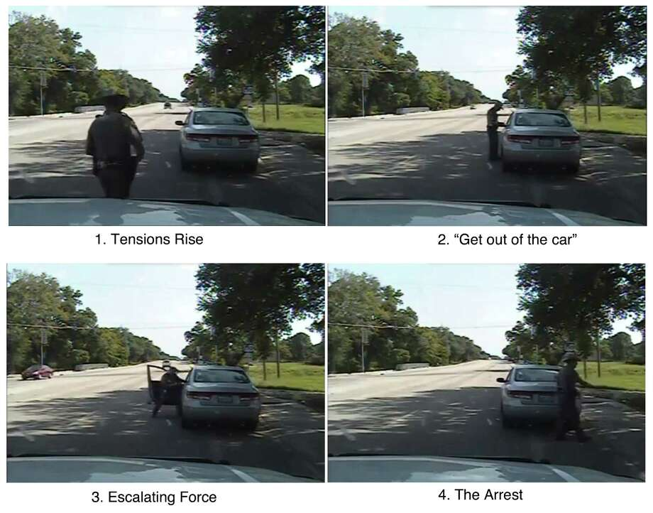 """2 - """"Get out of the car!"""" Photo: TEXAS DEPARTMENT OF PUBLIC SAFET, HO / TEXAS DEPARTMENT OF PUBLIC SAFET"""