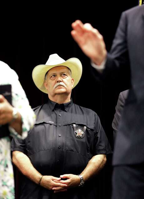 "Waller County Sheriff Glenn Smith says, ""The whole nation, the whole world is looking at us. If there is something we can do different, some way to improve, then we are going to do it."" Photo: Pat Sullivan /Associated Press / AP"