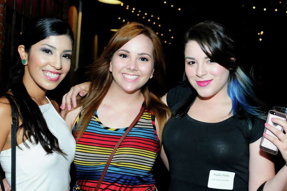 San Antonio Film Slam at Brick in the Blue Start Arts Complex on Friday night. Photo: Brenda Peña