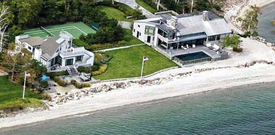 The property at 12 and 16 Bluff Point recently was sold for $9,875,000. Photo: Contributed Photo / Contributed Photo / Westport News