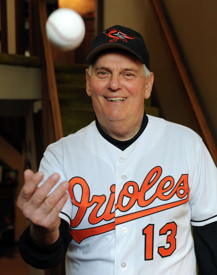 John Papa pitched the first game ever played by the Los Angeles Angels in major league baseball history during his time playing for the Baltimore Orioles. After 11 terms as a Shelton alderman, he decided not run for re-election this November. Photo: Autumn Driscoll / Autumn Driscoll / Connecticut Post