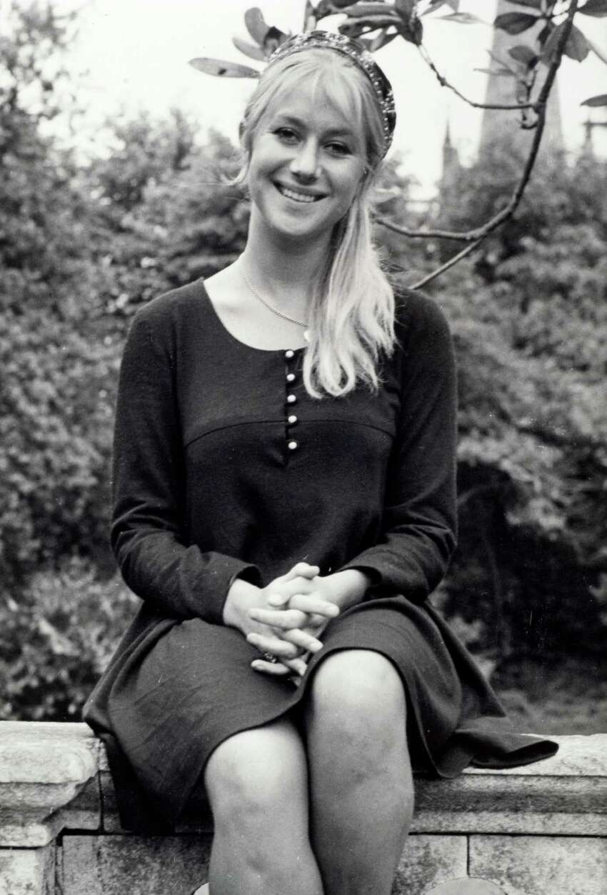 June 7, 1968: Helen Mirren while appearing with the Royal Shakespeare Company in