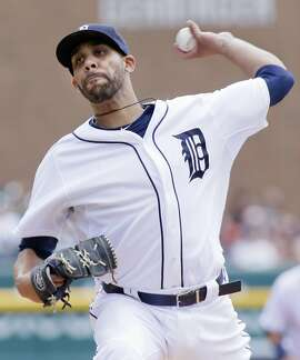 Detroit Tigers pitcher David Price delivers against the Seattle Mariners during the first inning of a baseball game Thursday, July 23, 2015 in Detroit. (AP Photo/Duane Burleson)