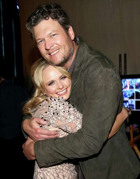 Country music stars Blake Shelton and Miranda Lambert were married in 2011. Photo: Christopher Polk /Getty Images / 2014 Getty Images
