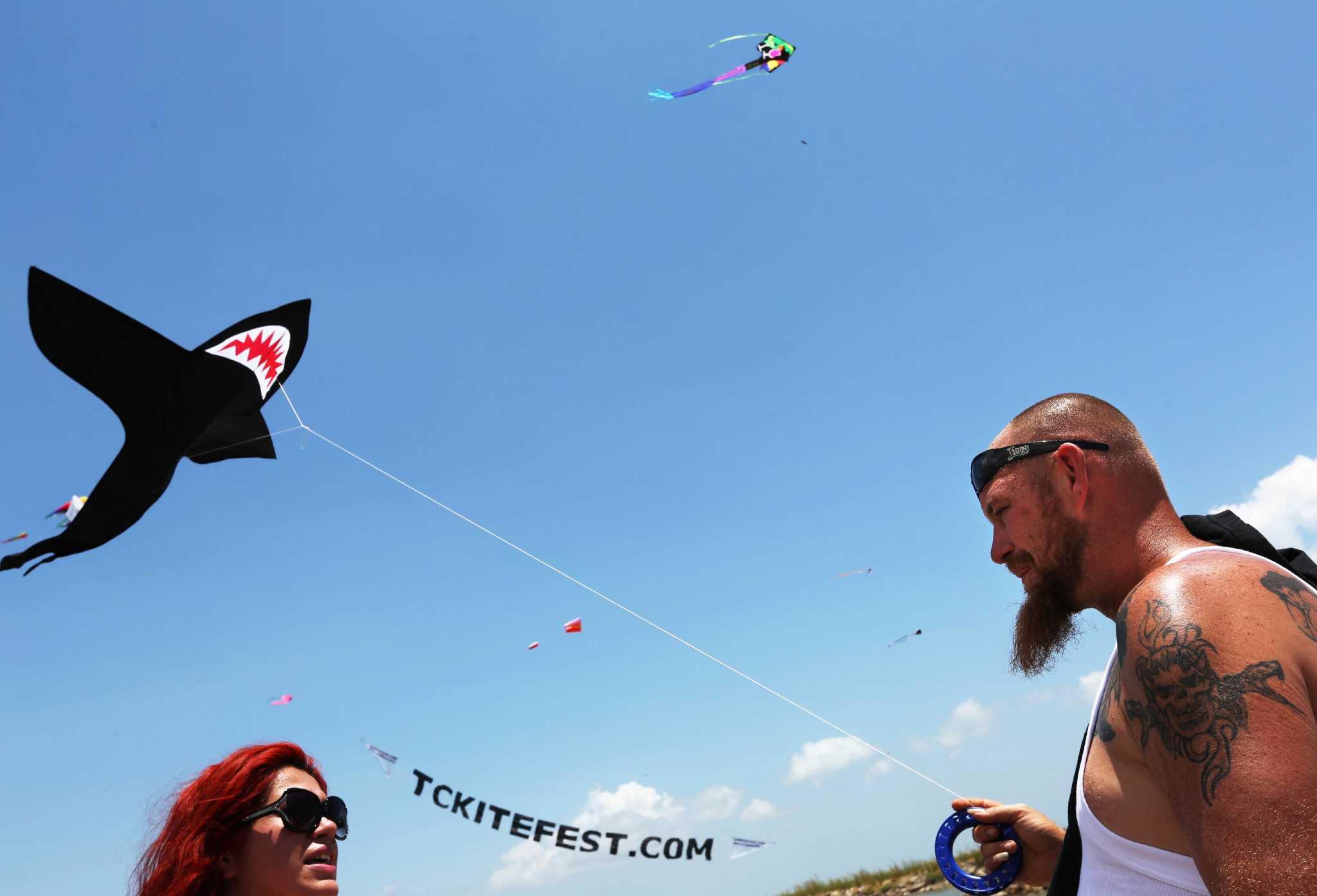 Kites Fly High Over Texas City Houston Chronicle