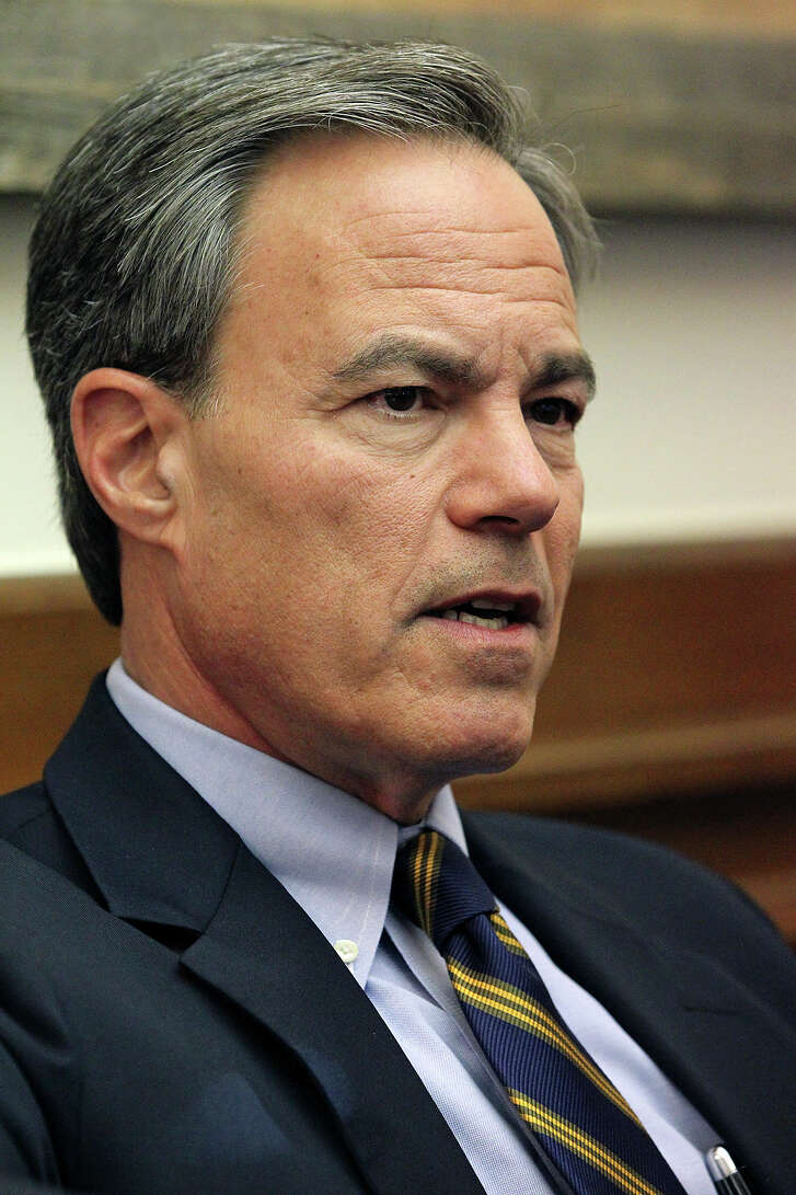 Texas Speaker of the House, Joe Straus answers questions in his office on January 7, 2015.