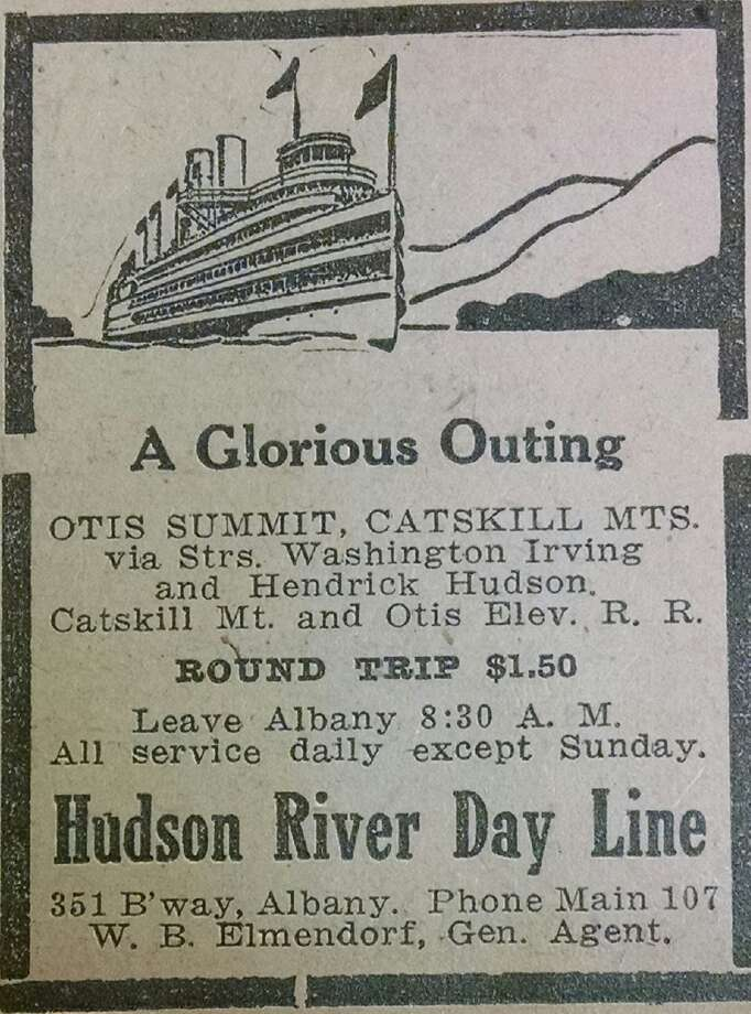 An advertisement from the Monday, July 26, 1915 Times-Union. (Times Union archive)