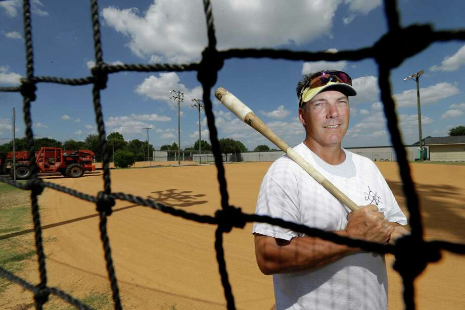 Steve Finken owns Cypress Infield Academy, located in an area of massive population growth. Finken says the growth is a great boon, but much of it comes with headaches. Photo: Melissa Phillip, Staff / © 2015 Houston Chronicle