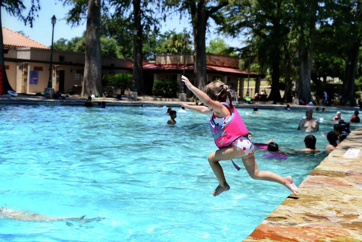 San Pedro Springs Park - Midtown 2200 N. FloresOpen swim: 2-8 p.m., Tuesday-Sunday