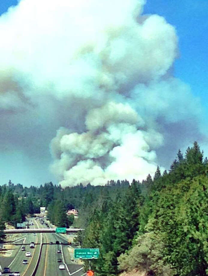 Placer County Fire Forces Evacuations Near Alta Sfgate