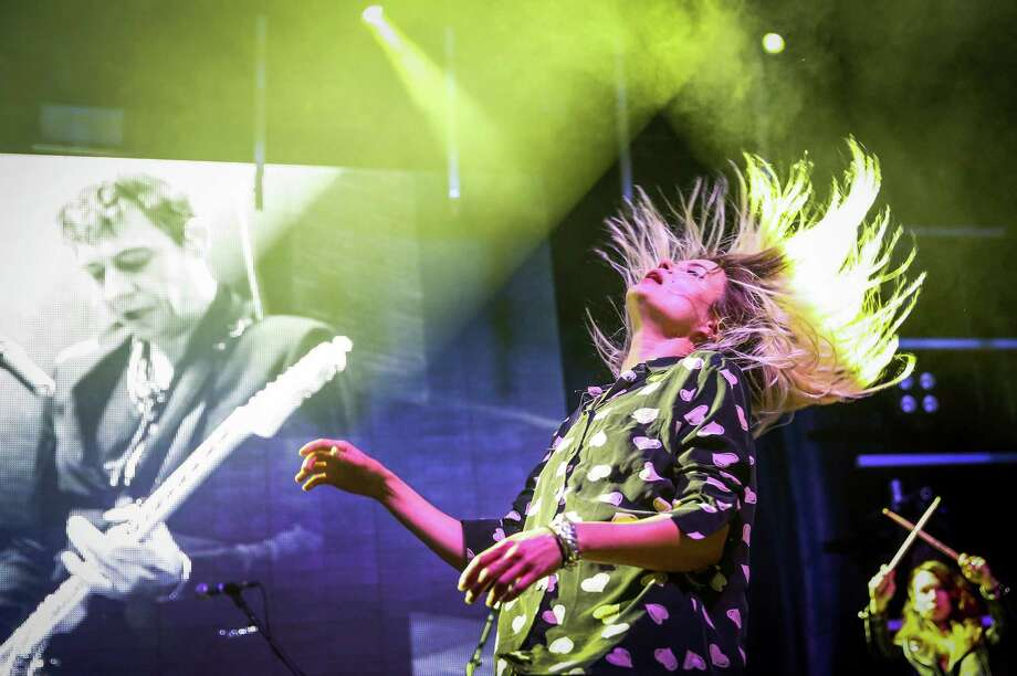 Alison Mosshart of The Kills performs with during day two of Capitol Hill Block Party. The three day festival brings music and tens of thousands of fans to the center of Seattle's Capitol Hill neighborhood. Photographed on Saturday, July 25, 2015. Photo: JOSHUA TRUJILLO, SEATTLEPI.COM / SEATTLEPI.COM