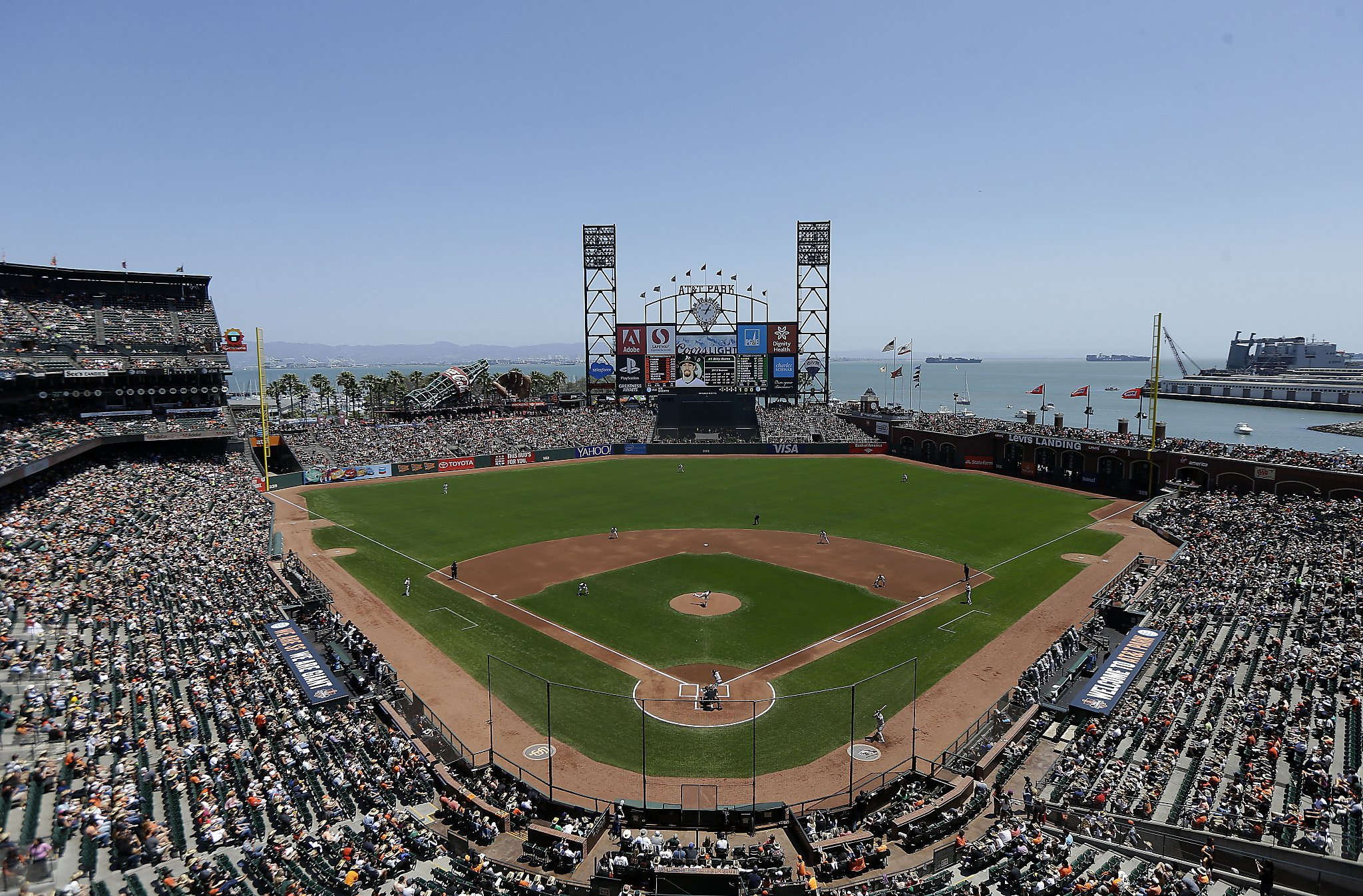giants to install additional netting at at t park sfgate
