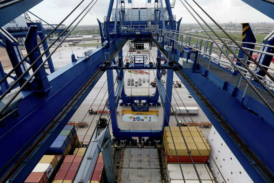 The expansion of Port Freeport is expected to result in a need for improved infrastructure in the area.  Photo: Gary Coronado, Staff / © 2015 Houston Chronicle